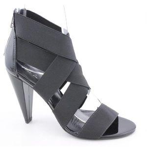 •Pour La Victoire• Caitlin Strappy Heels in Black